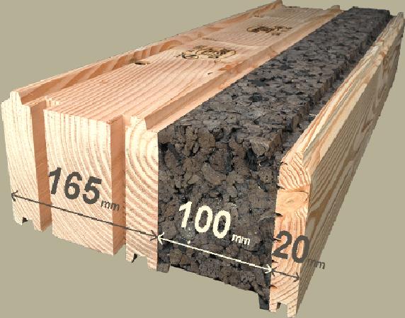 Les briques en bois Aveon produit # Maison Brique Bois